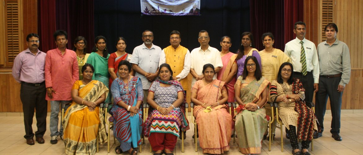 Deputy High Commissioner officially launched the Yoga training for teachers of Tamil Schools in federal territory of Kuala Lumpur